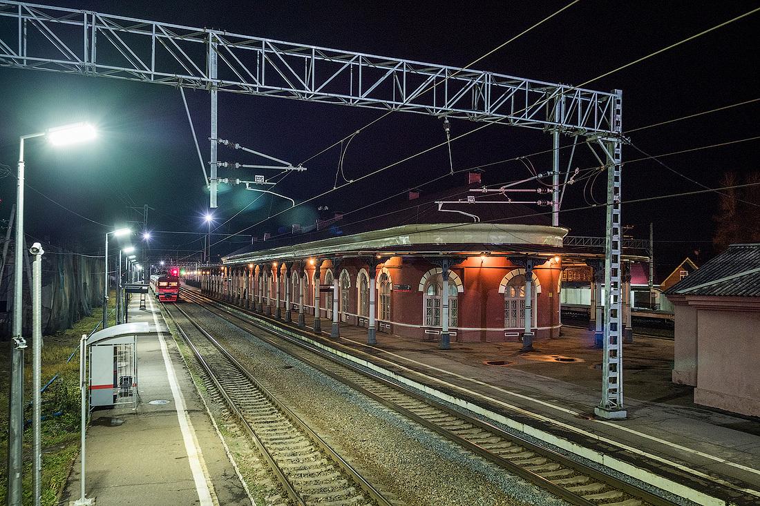 Малая Вишера (вокзал), Малая Вишера