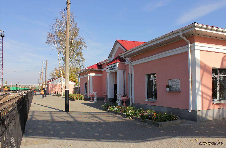 Железнодорожная станция Губкин, Губкин