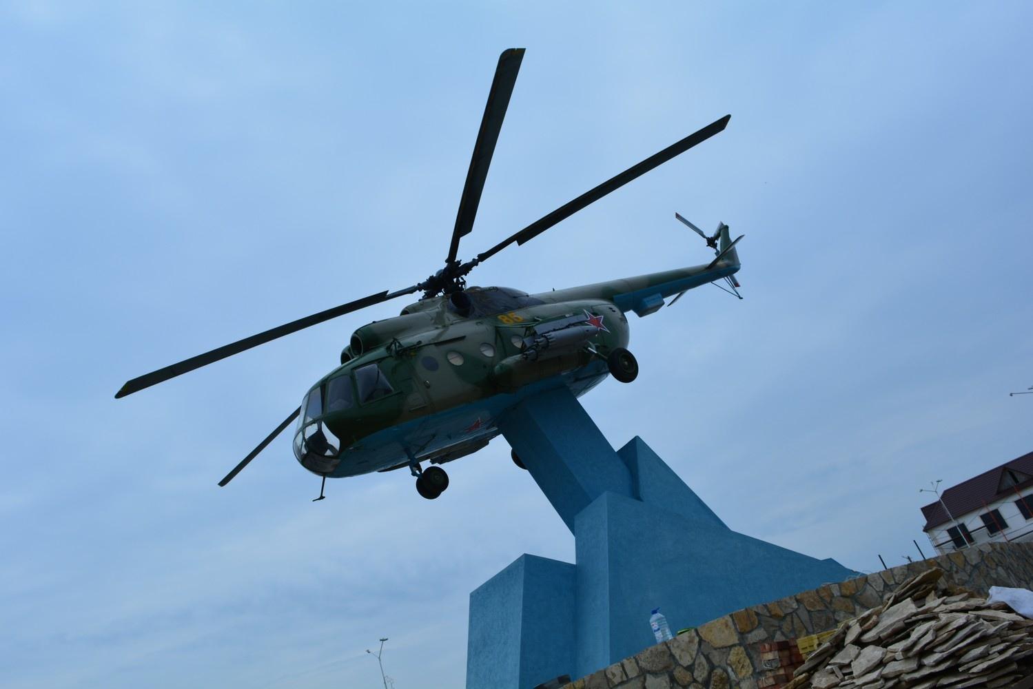 Памятник вертолет  Ми-8Т, Татищево