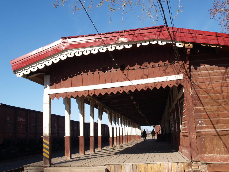 Деревянный железнодорожный вокзал станции Боровичи, Боровичи