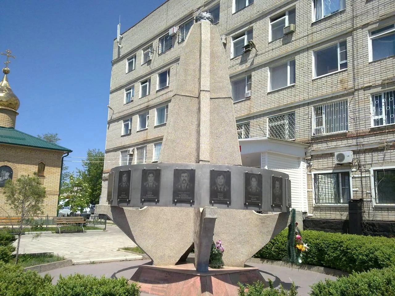 Памятник милиционерам, Буденновск