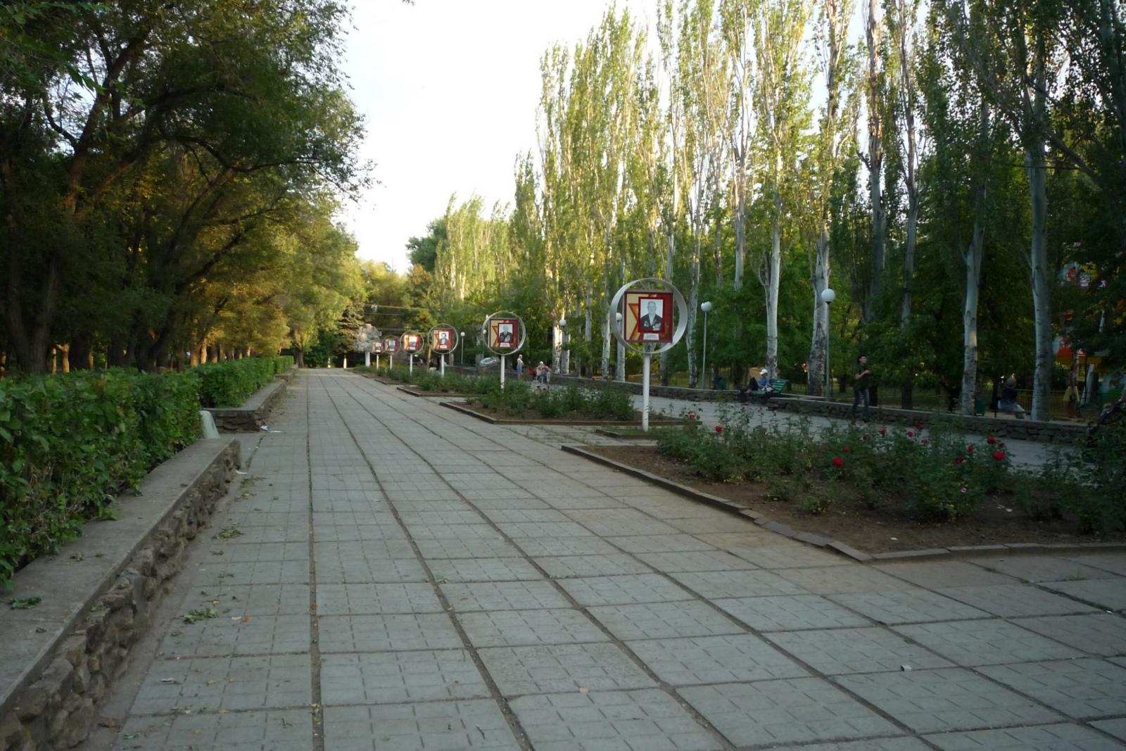 Аллея Материнской Славы, Волгодонск