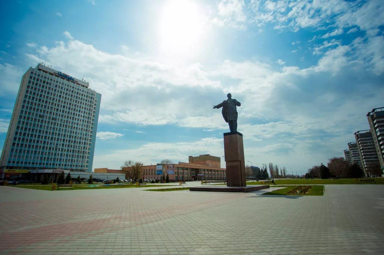 Площадь имени В.И. Ленина, Волжский