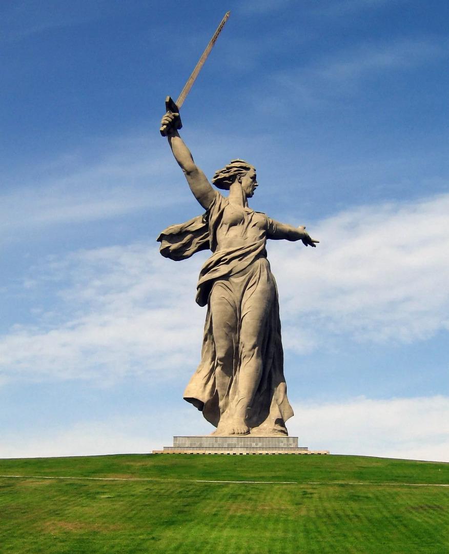 Скульптура «Родина-мать зовёт!» в Волгограде, Волгоград