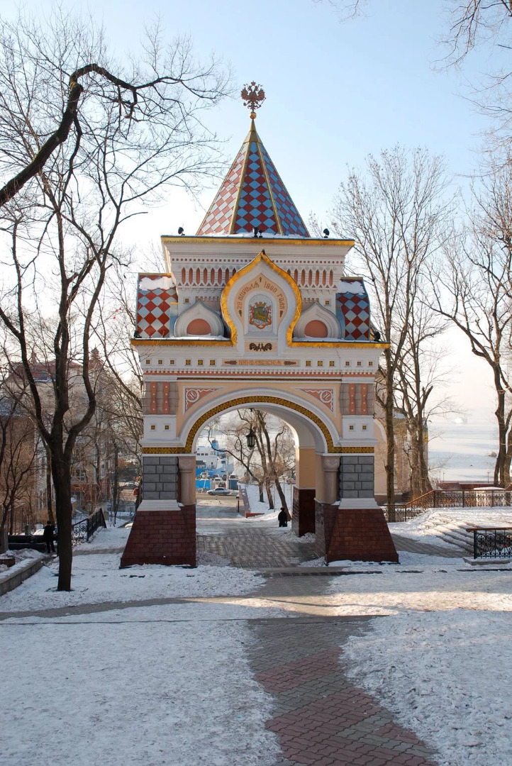 Триумфальная арка цесаревича Николая, Владивосток