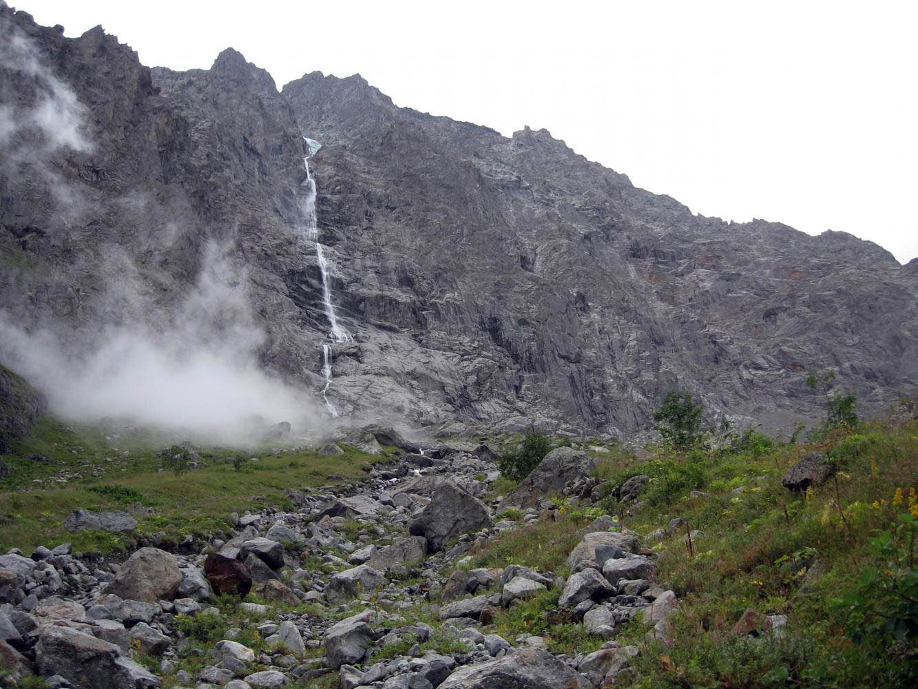 Большой Зейгеланский водопад, Владикавказ