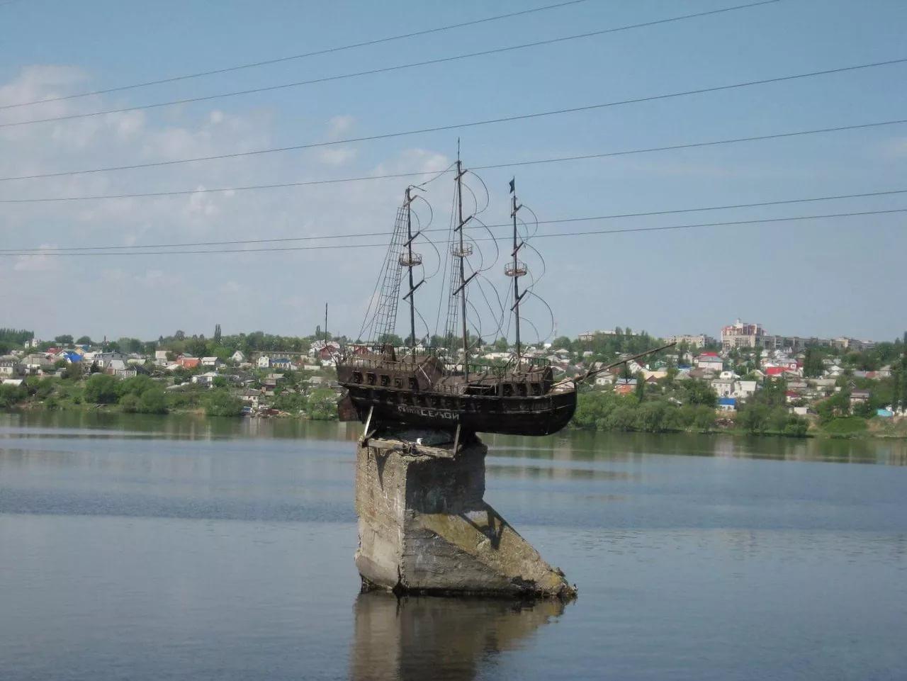 Макет корабля Меркурий, Воронеж