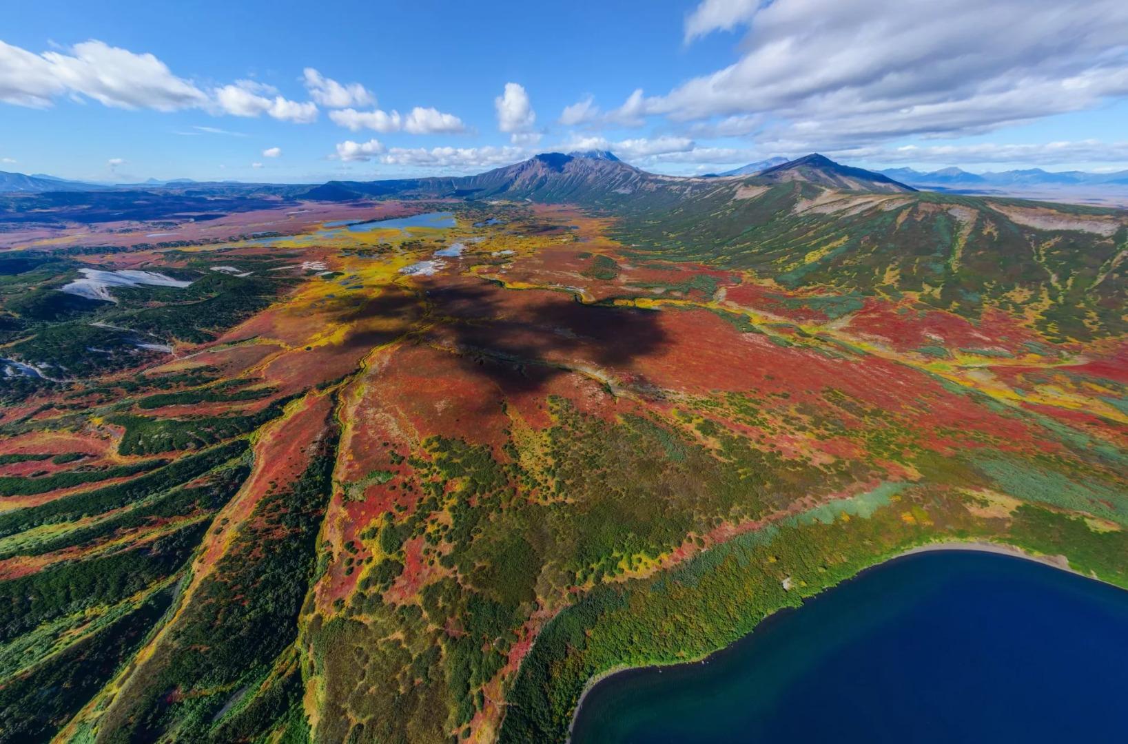 Кальдера вулкана Узон, Елизово
