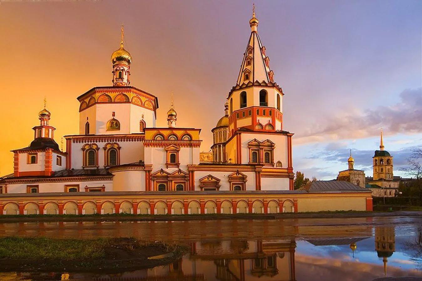 Собор Богоявления Господня (Богоявленский собор), Иркутск