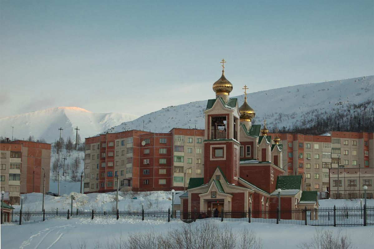 Церковь Спаса Нерукотворенного Образа Господа Иисуса Христа, Кировск (Мурманская область)