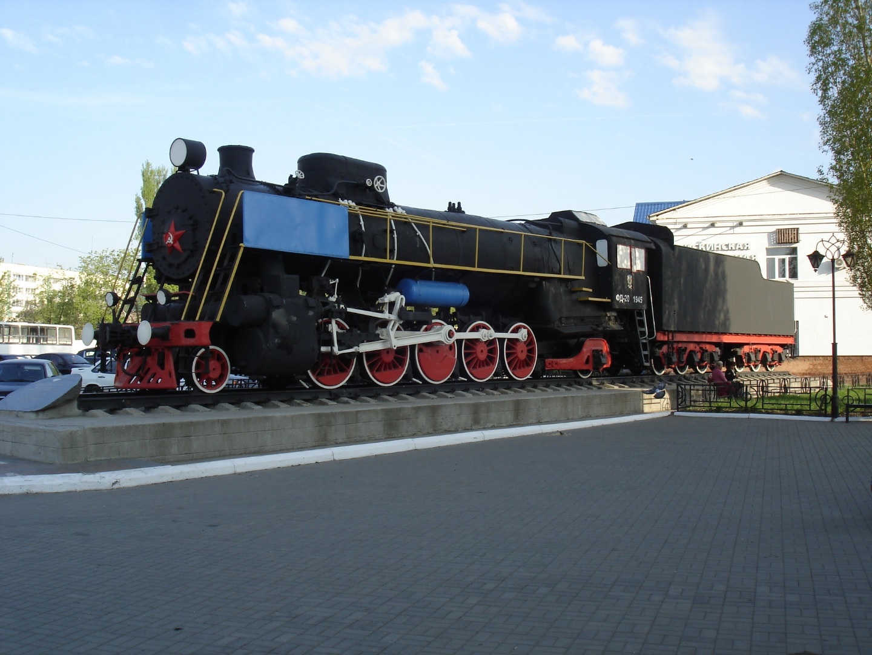Памятник паровозу ФД-20-1945, Лиски