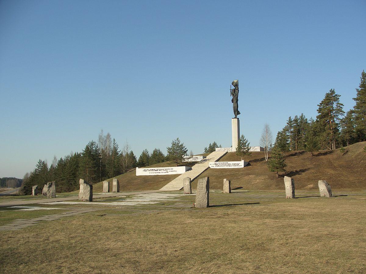 Мемориал Партизанская слава, Луга