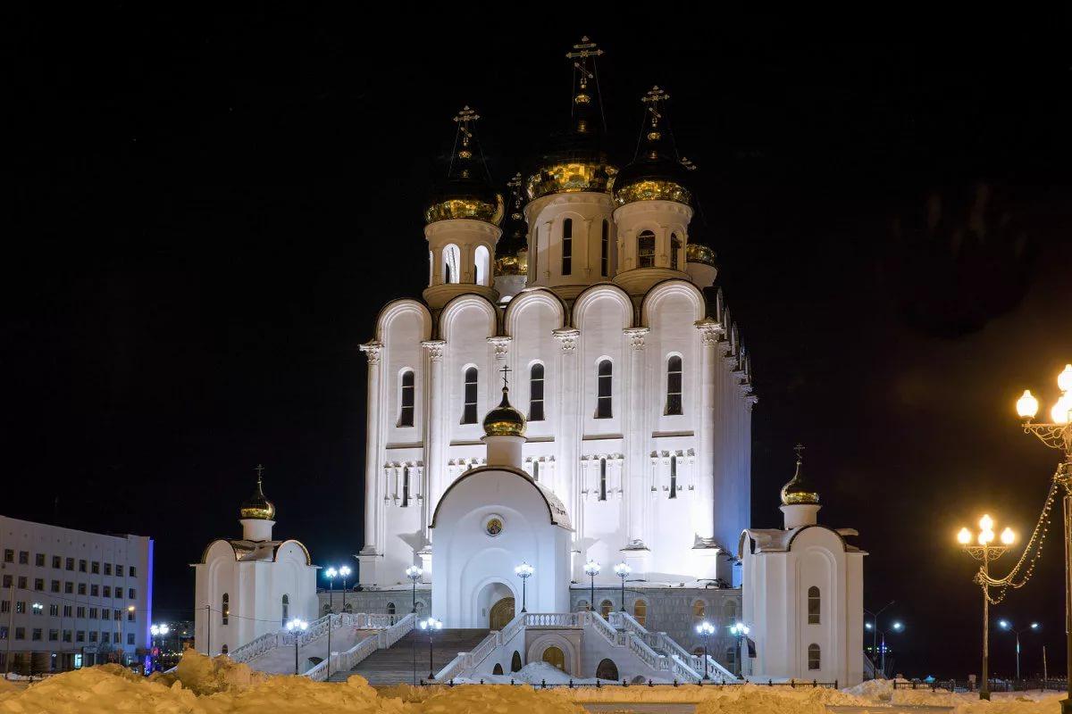 Свято-Троицкий кафедральный собор, Магадан