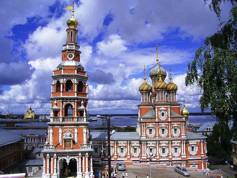 Рождественская (Строгановская) церковь, Нижний Новгород