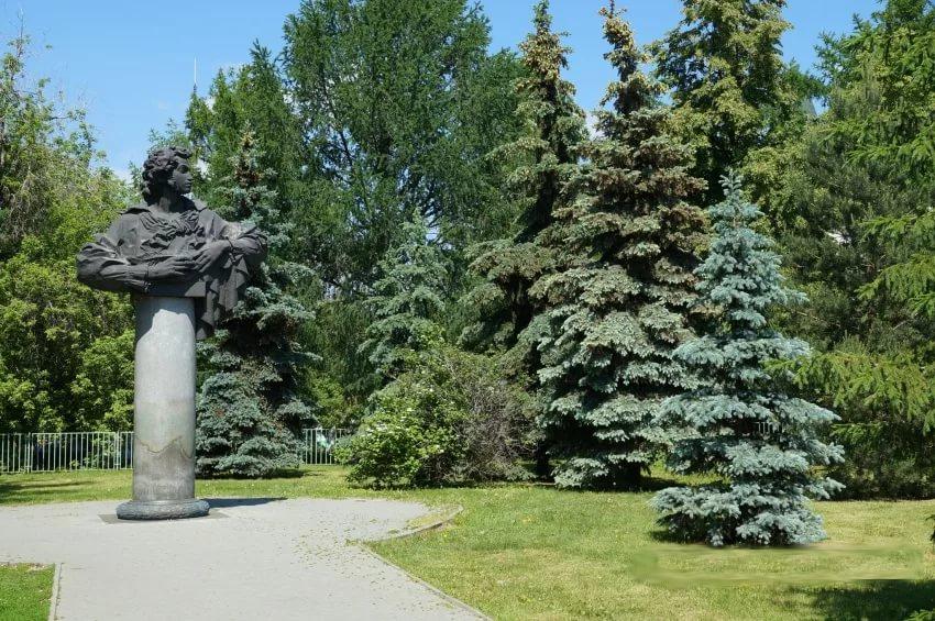 Городской сад им. А.С. Пушкина, Челябинск