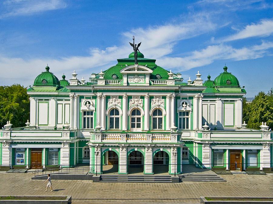 Омский государственный академический театр драмы, Омск