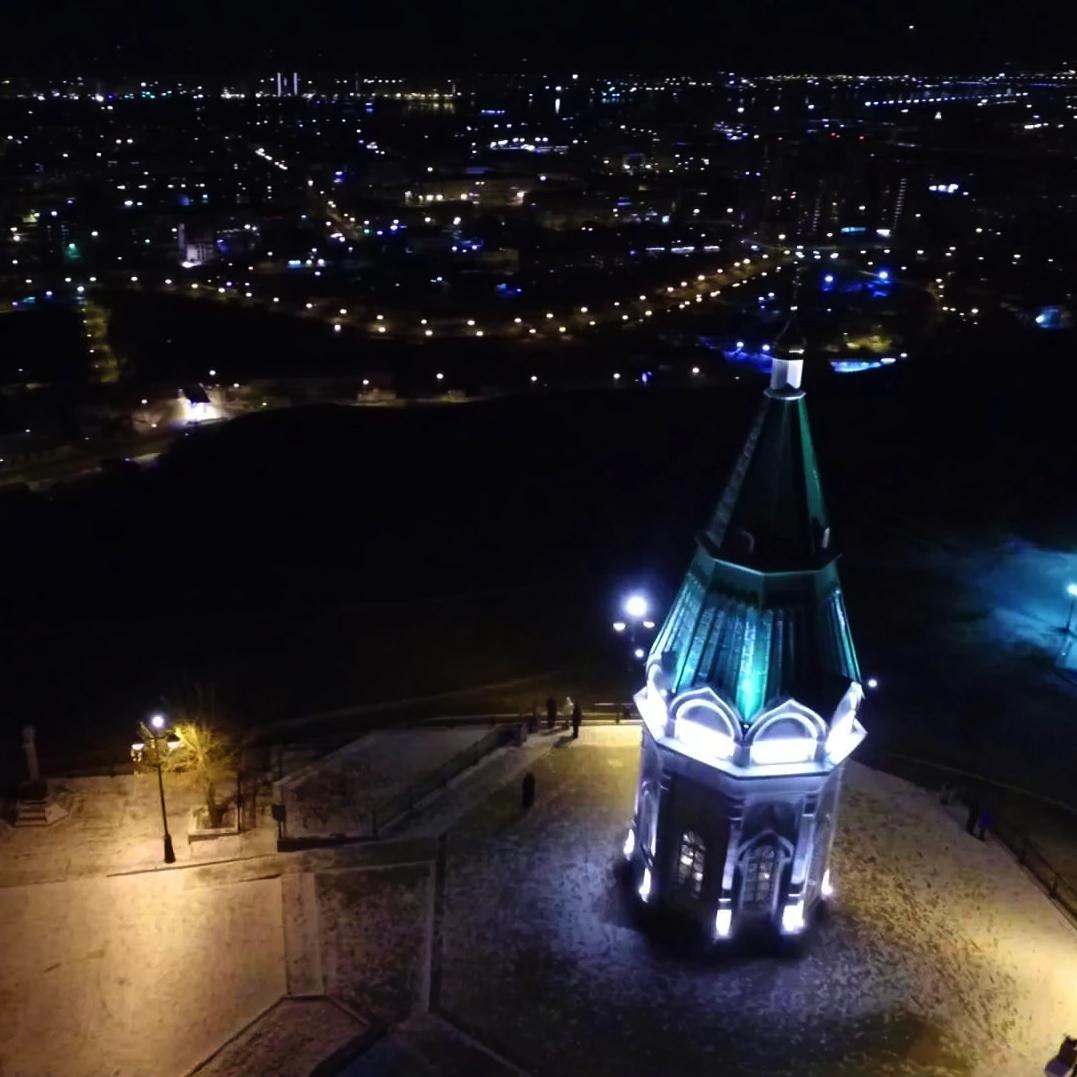 Часовня Параскевы Пятницы на Караульной горе, Красноярск