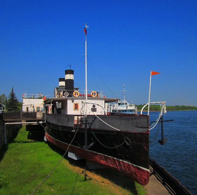 Пароход-музей Святитель Николай, Красноярск