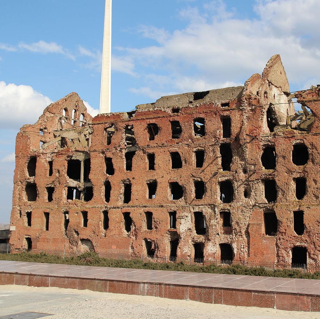 Руины мельницы Гергардта, Волгоград