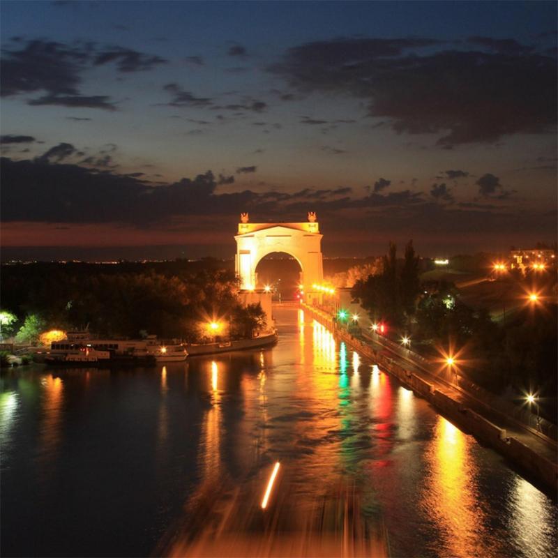 Первый шлюз Волго-Донского судоходного канала, Волгоград