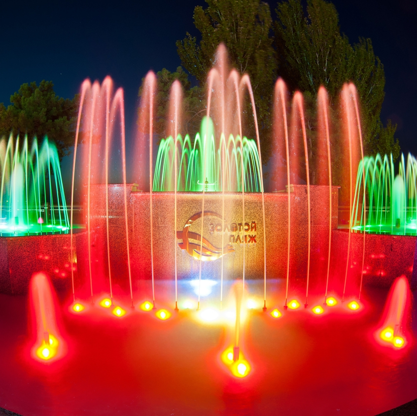 Площадь Советов (Музыкальные фонтаны), Анапа