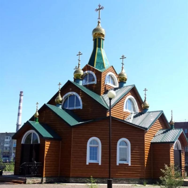 Церковь Всех Святых Сибирских, Анжеро-Судженск