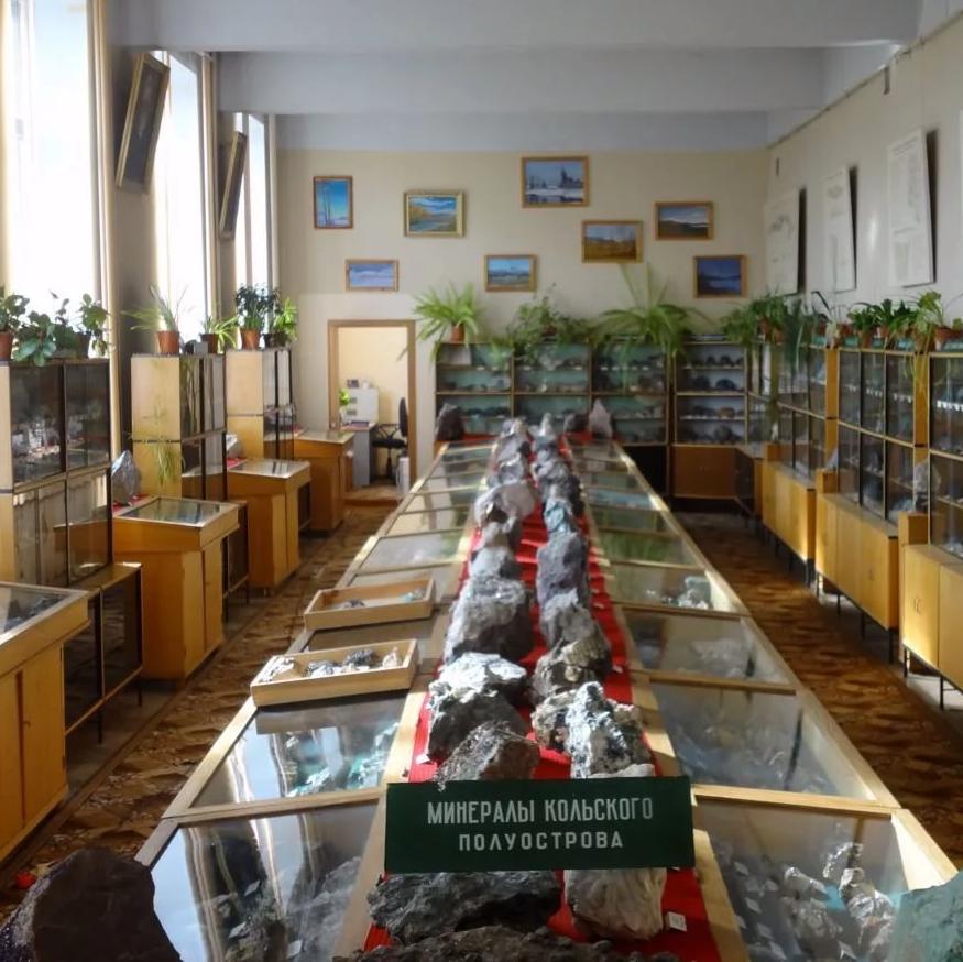 Музей геологии и минералогии, Апатиты