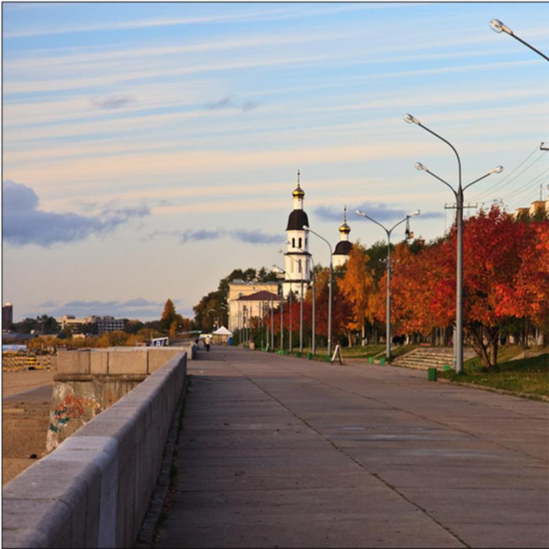 Набережная Северной Двины, Архангельск