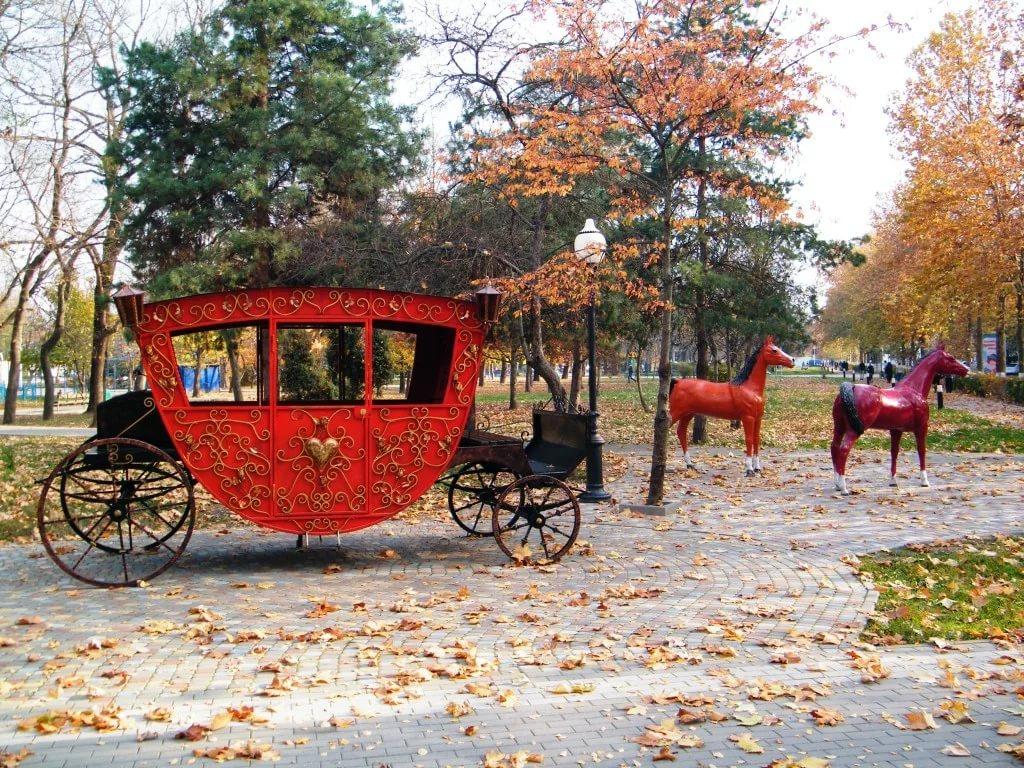 Городской парк культуры и отдыха, Белореченск