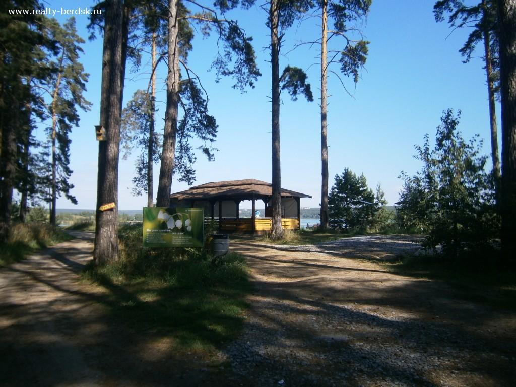 Городской парк Бердская коса, Бердск
