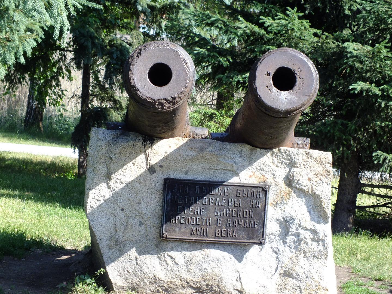 Пушки бийской крепости, Бийск