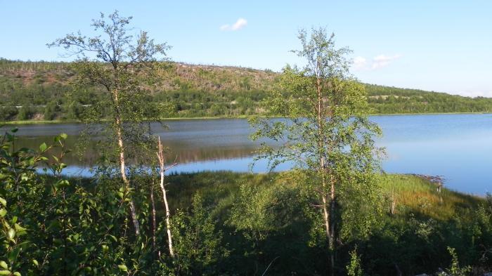 Озеро Хаукилампи, Заполярный