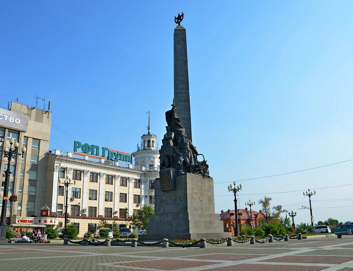 Памятник героям Гражданской войны, Хабаровск