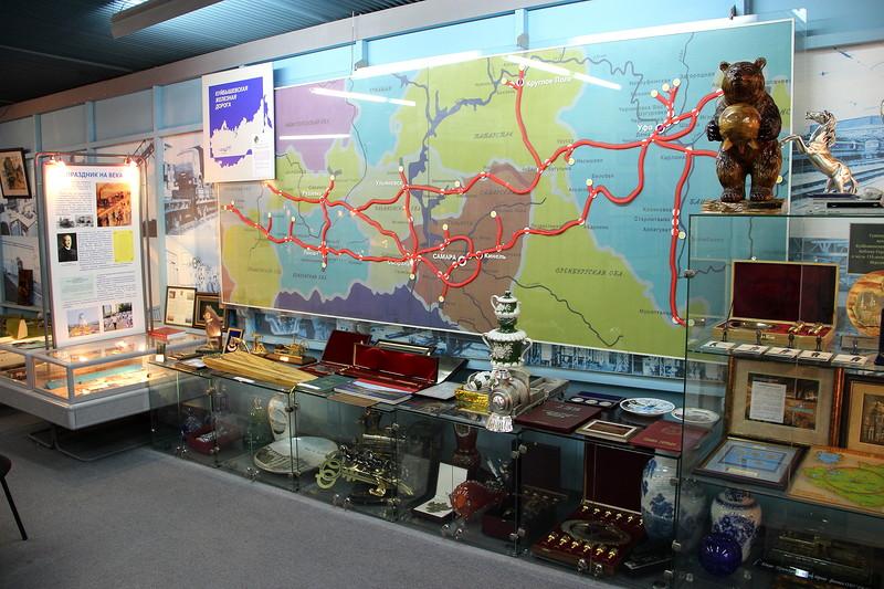 Дорожный музей истории Куйбышевской железной дороги, Самара