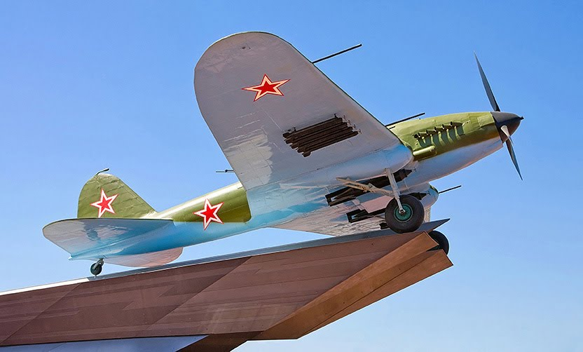 Памятник самолету Ил-2, Самара