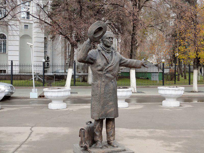 Памятник Юрию Деточкину, Самара