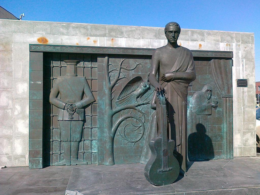 Памятник В.Высоцкому, Самара